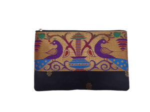 Semi Paithani Flat purses