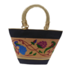 Paithani basket handbag