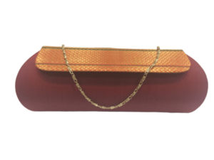 Pure Paithani zari clutch