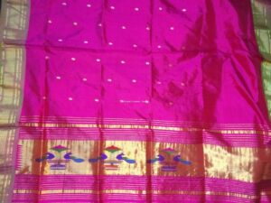 Pure Paithani Kurti Material