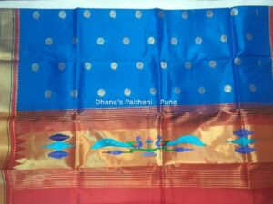 Semi Paithani Kurti Material