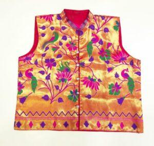 Paithani Jacket – Pink