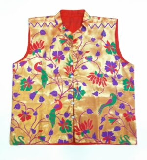 Paithani Jacket – all over