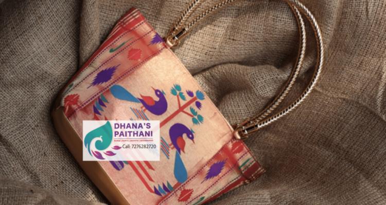 paithani purses online