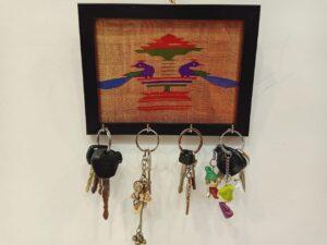 Paithani keyholder