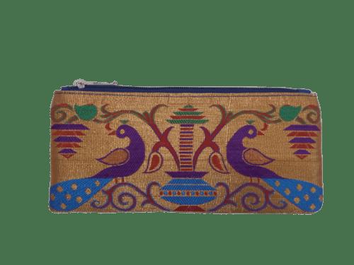 paithani coin purse