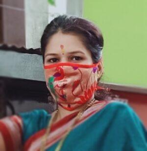 Paithani mask