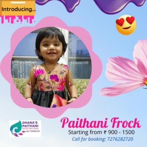 Paithani frock