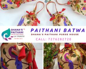 Semi Paithani batwa