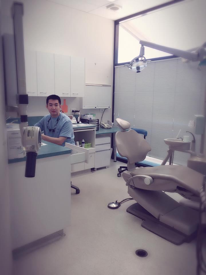 Jackson, dentist at Guardian Dental Care