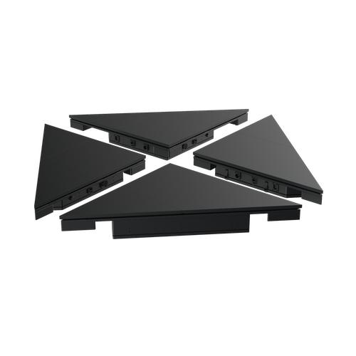 Black Marble LED Floor – Tiles