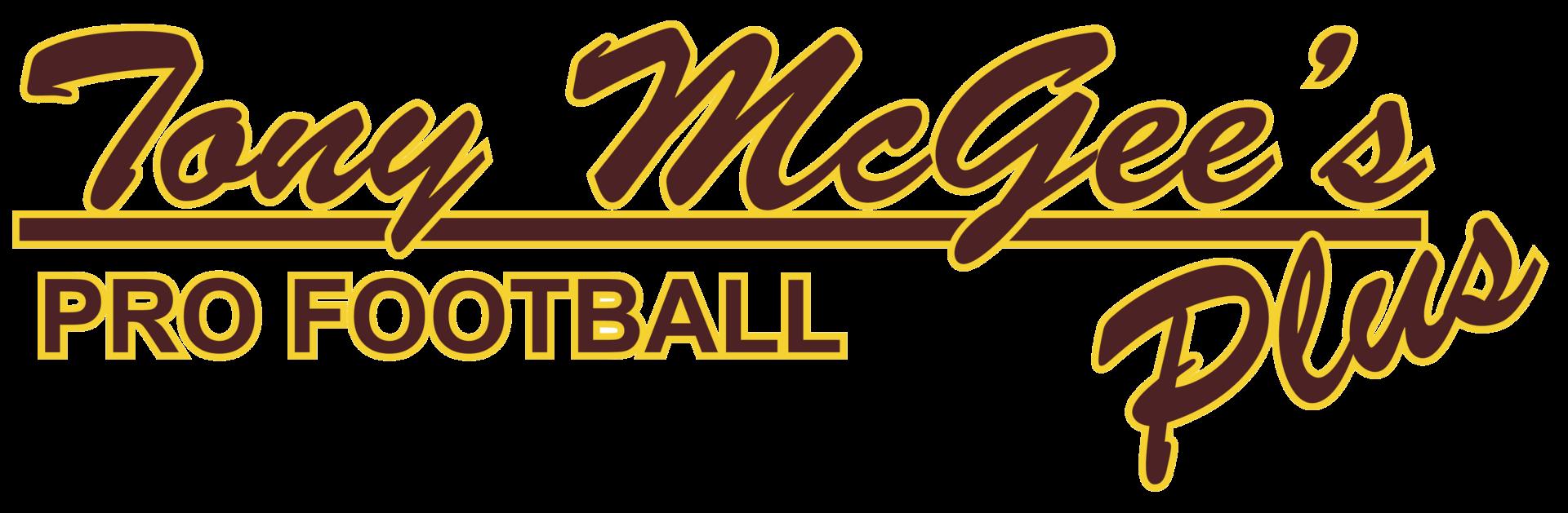Tony McGee's Pro Football PlusALPHA