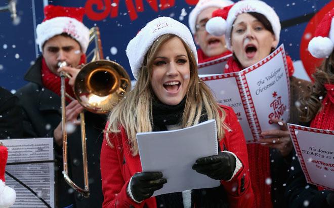 CHRISTMAS CAROLS FROM THE VIRUS LADIES