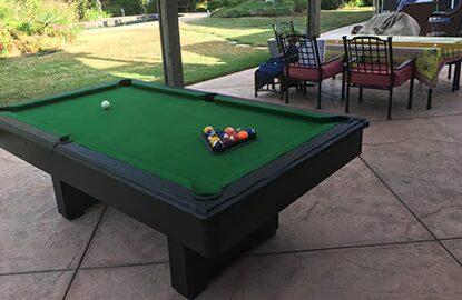 VIRUS HQ Pool Table
