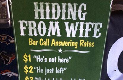 VIRUS HQ Bar Signs