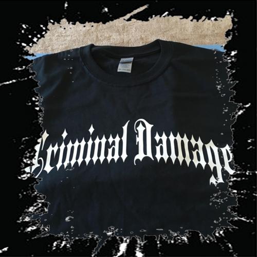 VIRUS Criminal Damage T Shirt