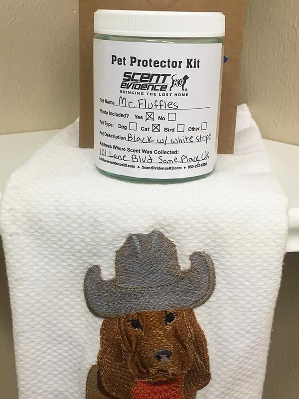Pet Protector Kit ID Label