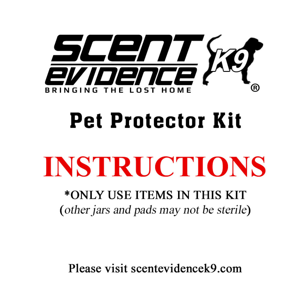 Pet Protector Kit Instructions 1