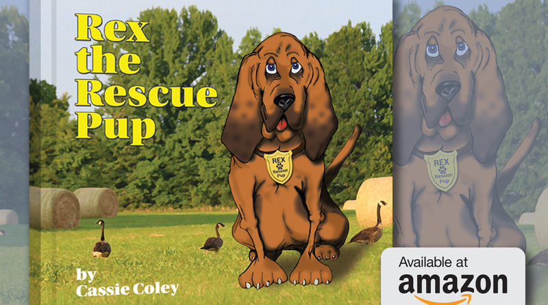 Rex the Rescue Pup Available on Amazon