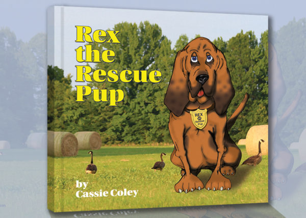 Rex the Rescue Pup Now Available on Amazon