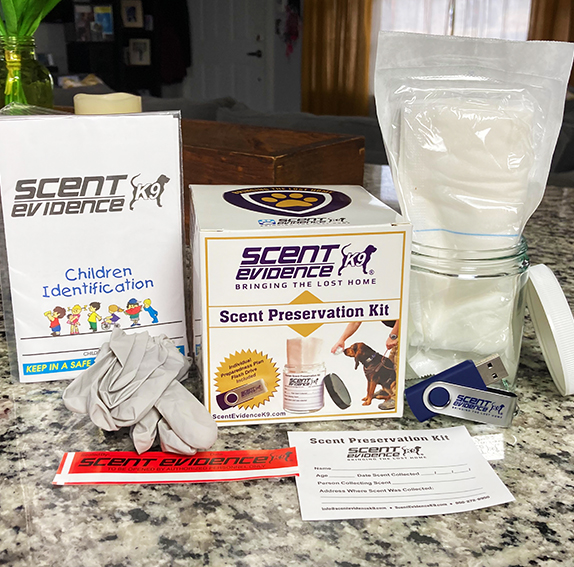 Child Safety Kit Scent Kit
