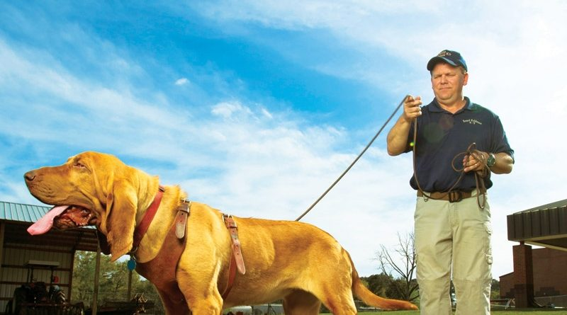 850 magazine article, Former FBI Forensic K9 Specialist, Paul Coley