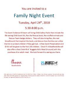 Chick-fil-A Family Night Bradfordville, FL Flier Apr 24 2018 bv II
