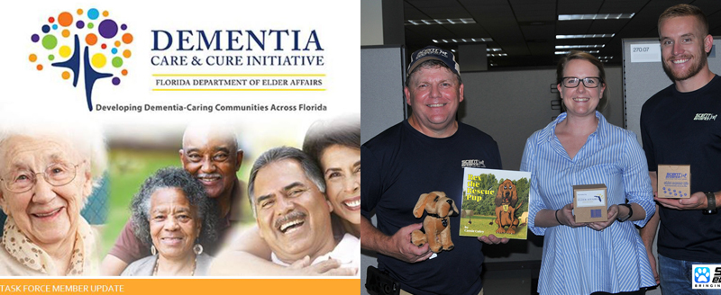 Florida Department of Elder Affairs and Scent Evidence K9 Partner to Prepare Those Who Wander
