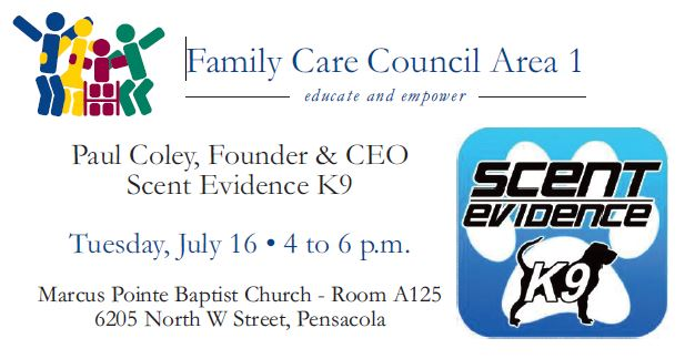 Family Care Council with Scent Evidence Kit