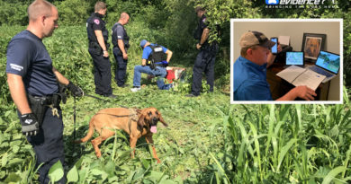 Illinois bloodhounds from WCSO help find missing man