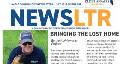 Dept of Elder Affairs Livable Community Newsletter