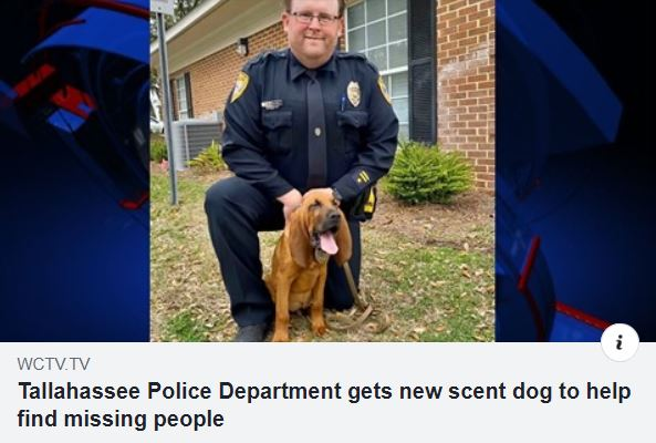 WCTV TPD Gets New Bloodhound