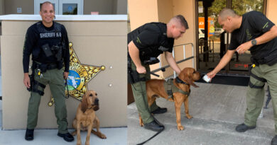 Sumter County Bloodhound Team FInds Missing Florida Woman