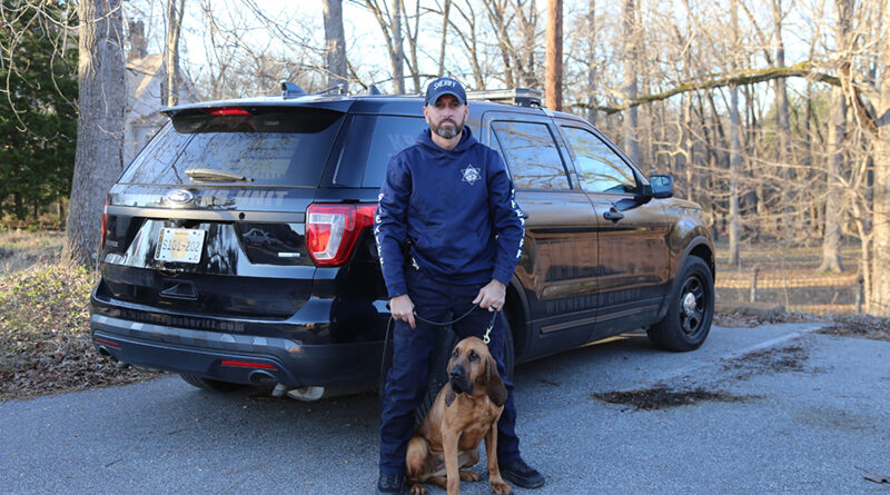 Winnebago County Bloodhound Team Finds Suspect