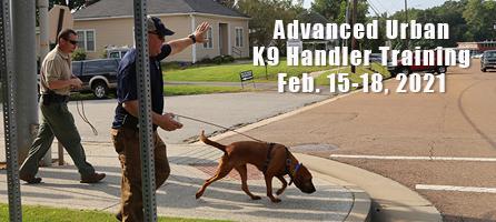 Urban K9 Handler Training