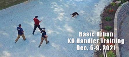 Basic Urban K9 Training Dec 6-9