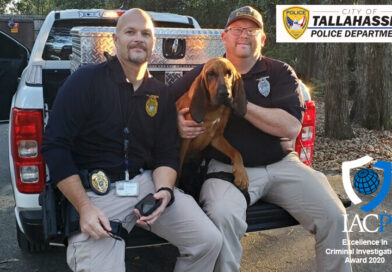 Tallahassee Police SVU K9 Unit Finds Missing Child