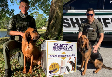 Scent Kits Help K9 Responders in Charlotte and St. Johns County Bring The Lost Home