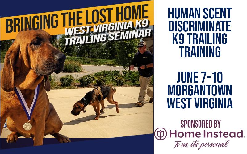 West Virginia K9 Trailing Seminar