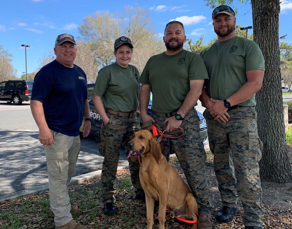 Marion County Correction Institution Scent Discriminate K9 Teams Find Success