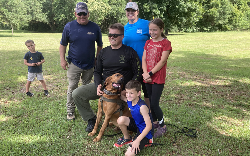 Sumter County Sheriff's Office K9 Team Finds Success