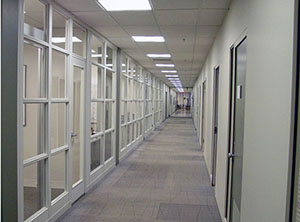 Office Floor-To-Ceiling Dividers