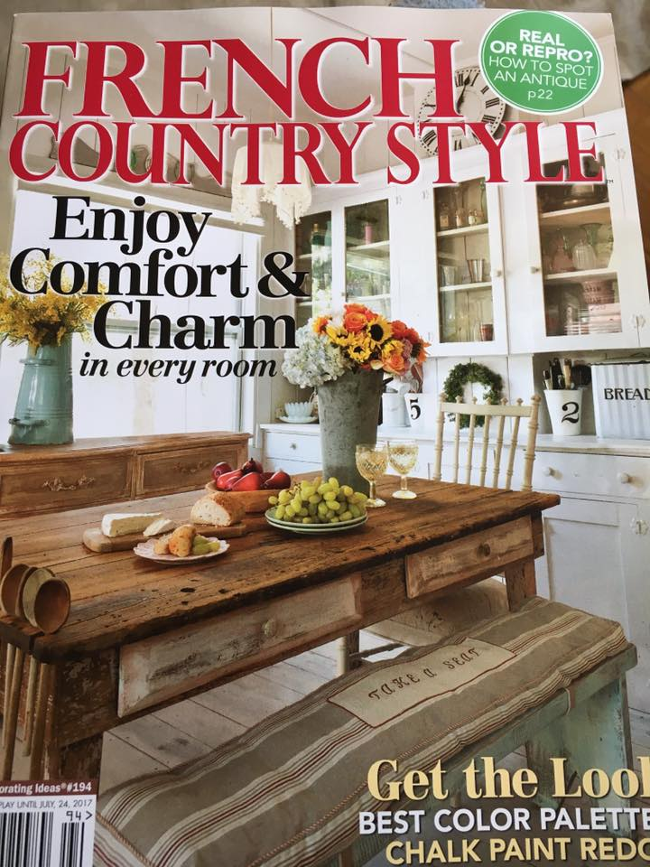 French Country Style magazine