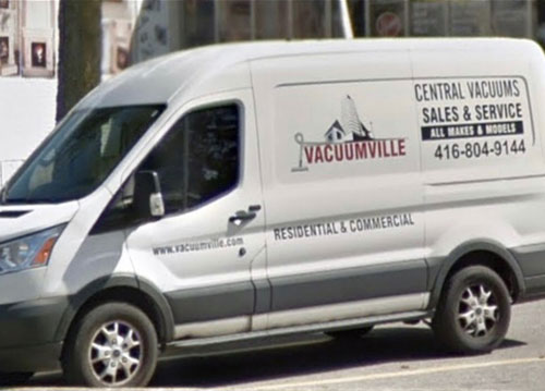 central vacuum systems in Toronto area GTA Sales Installation Repair Parts