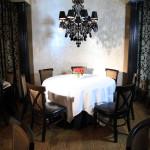 Marie Livingston's Steakhouse dining tables
