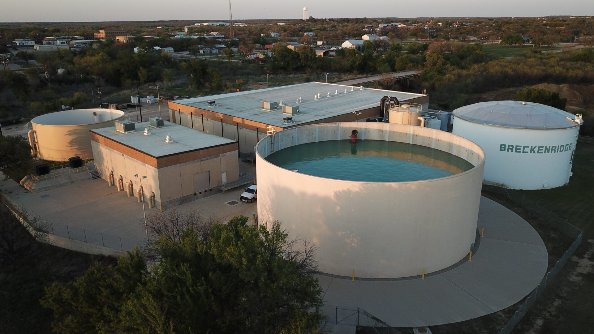 City of Abilene Raw Water Roughing Facility