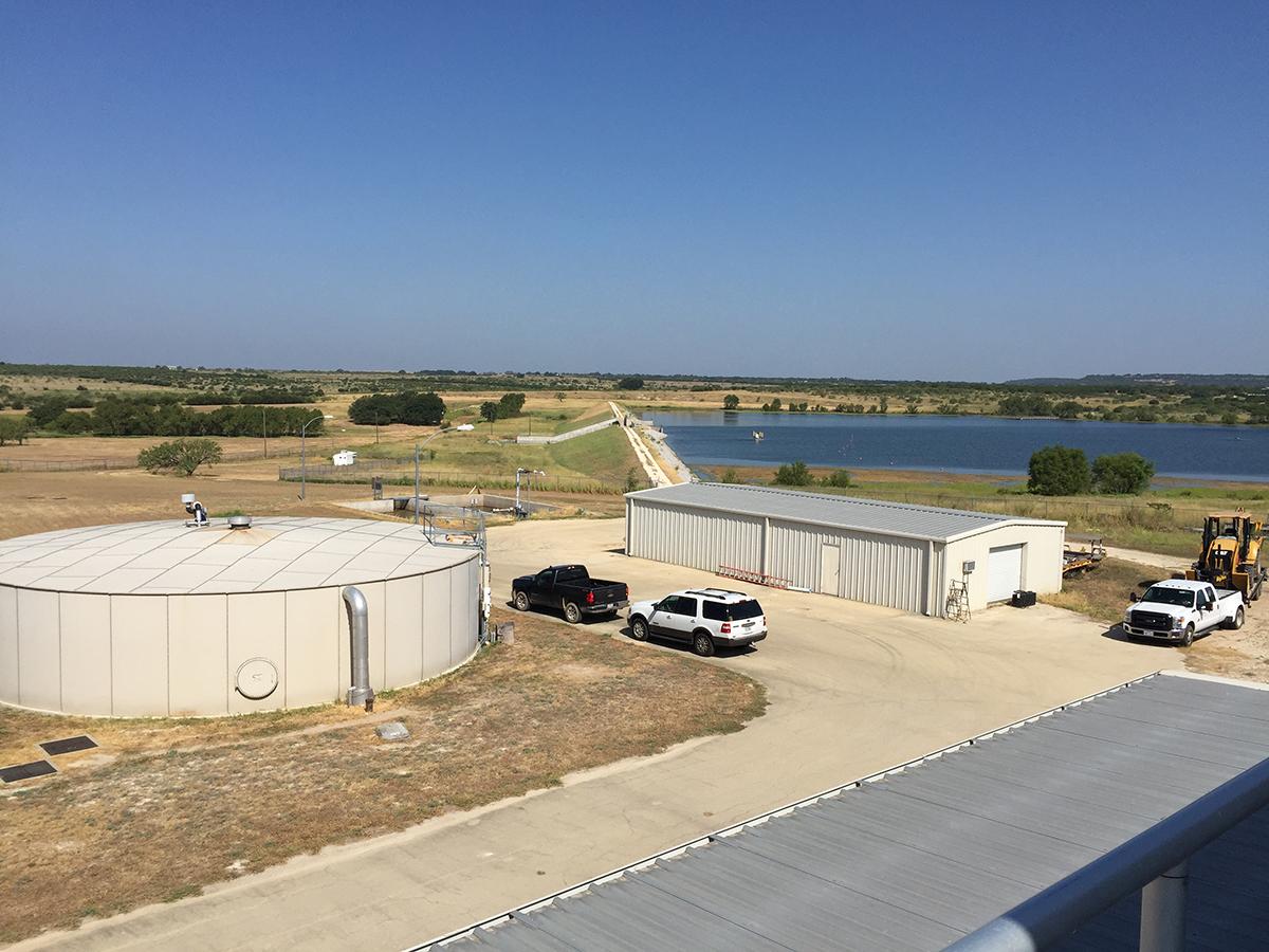 Corix Utilities Water Treatment Plant