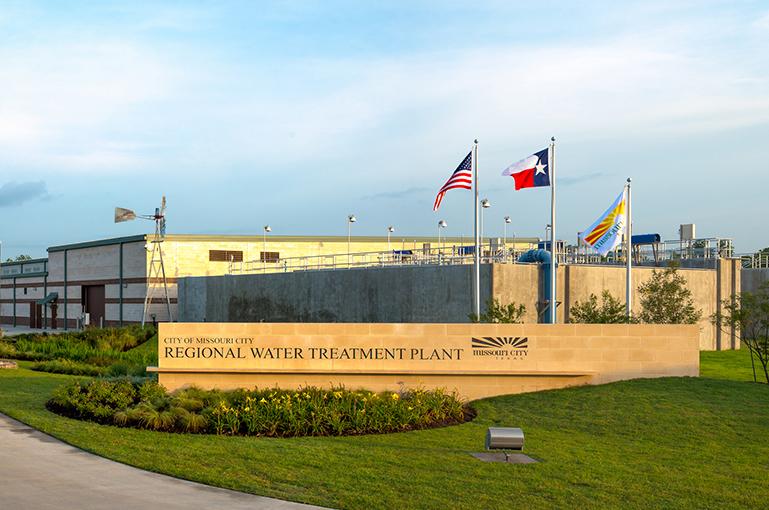 City of Missouri City Water Treatment Plant
