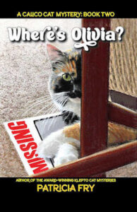 Where's Olivia, A Calico Cat Mystery Book 2