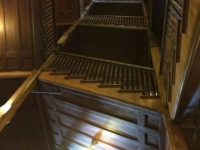 Mohonk - Main stairwell - after